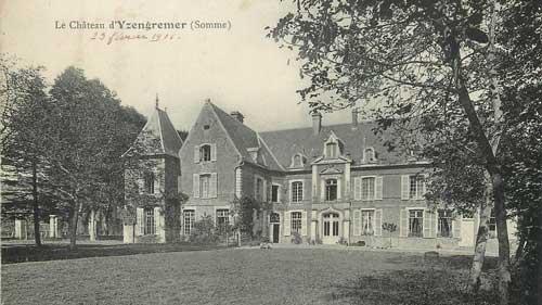 chateau yzengremer 1912