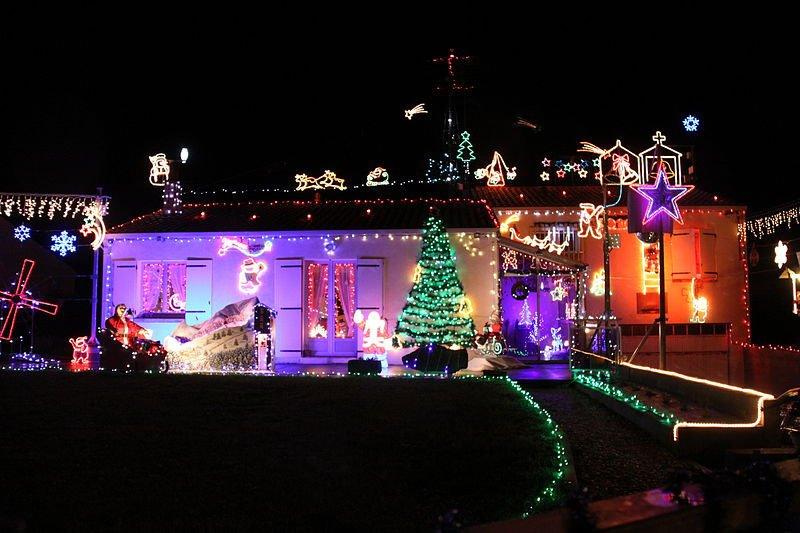 Concours maisons illuminées yzengremer